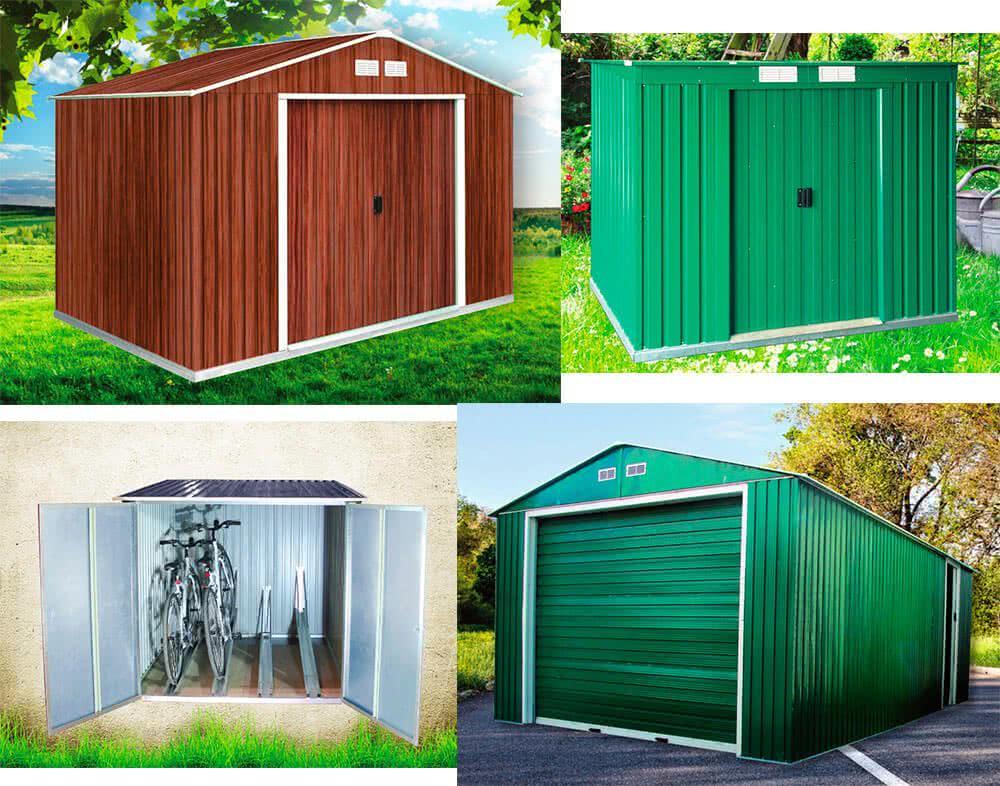 Casetas de pvc para exterior caseta de jardin solveig for Casetas de resina para exterior