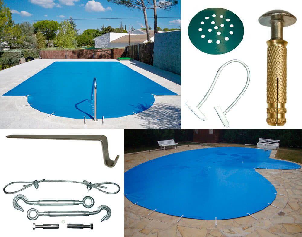 Lonas de pvc para piscina for Proteccion de piscinas