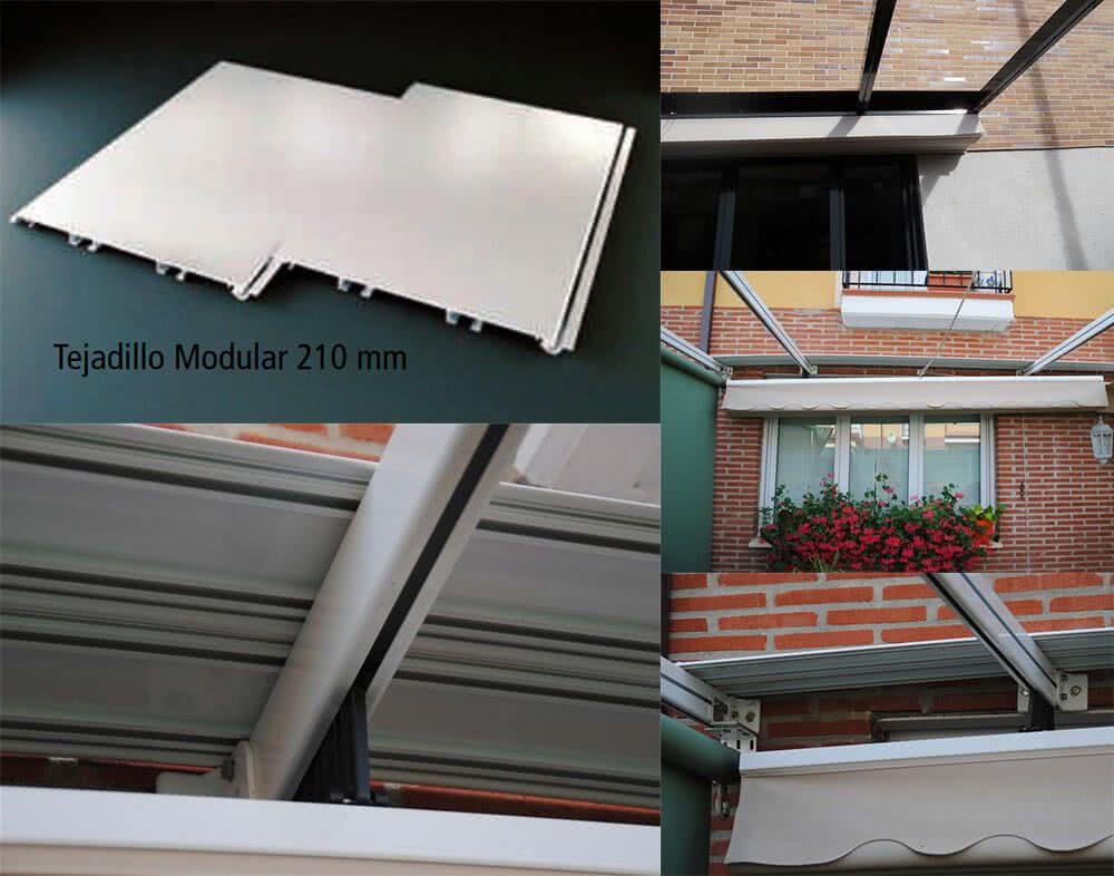 Toldos for Barras de aluminio para toldos