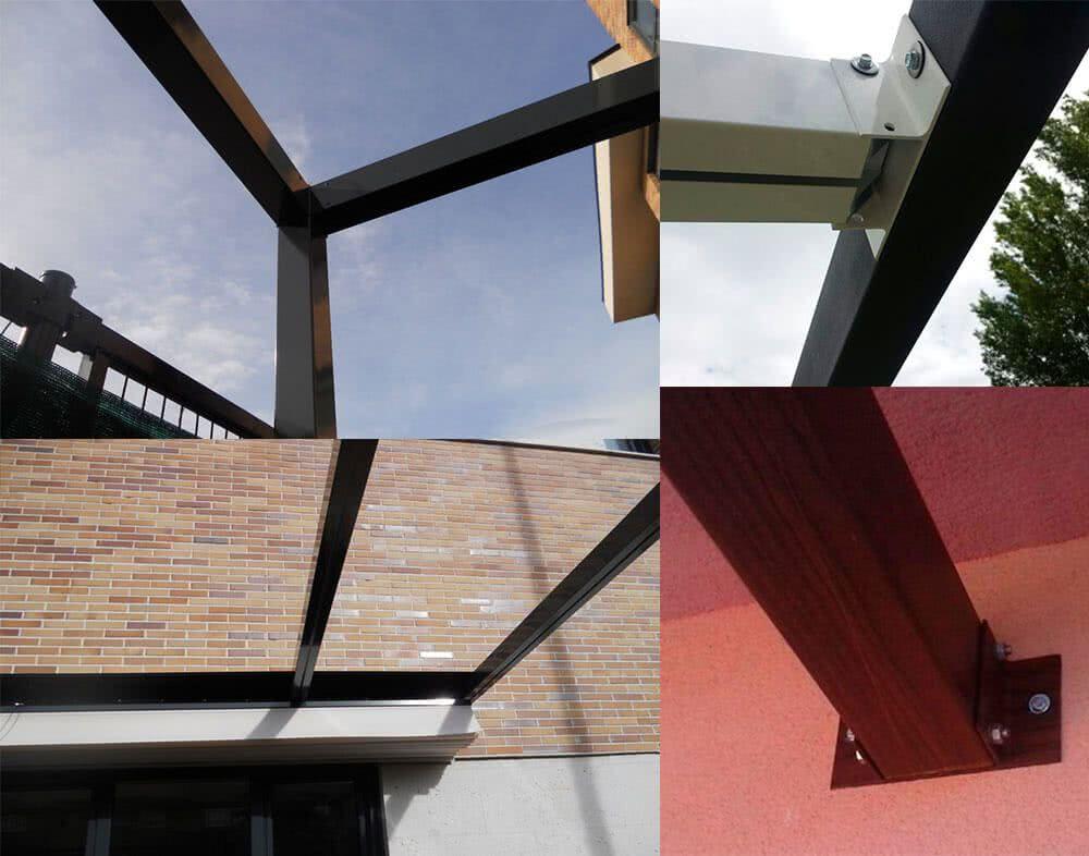 P rgola de aluminio varios modelos - Perfiles aluminio para pergolas ...