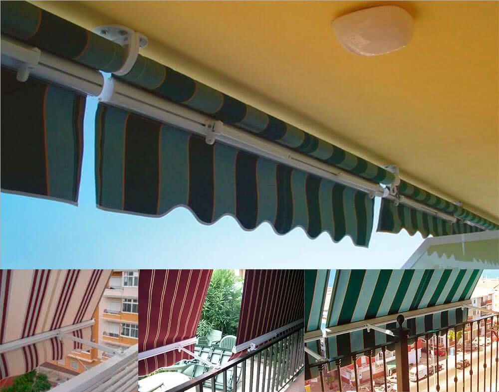 Toldo vertical estor o balc n - Precio toldo balcon ...